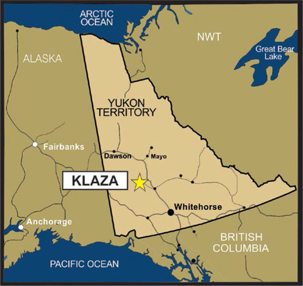 Klaza Project Overview - Project Map
